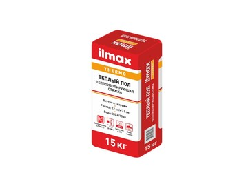 Стяжка ilmax thermo теплый пол 15 кг